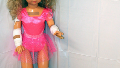 bandaid barbie