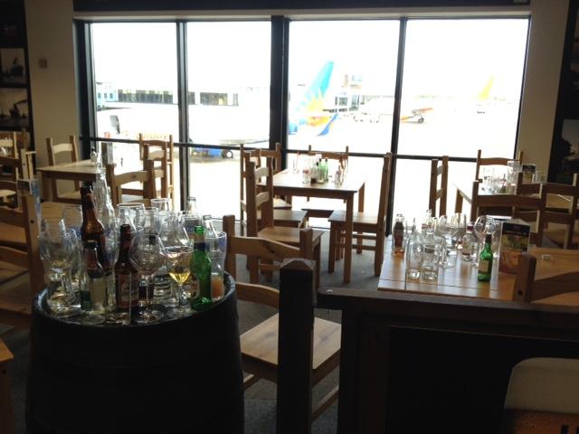 Belfast airport pub