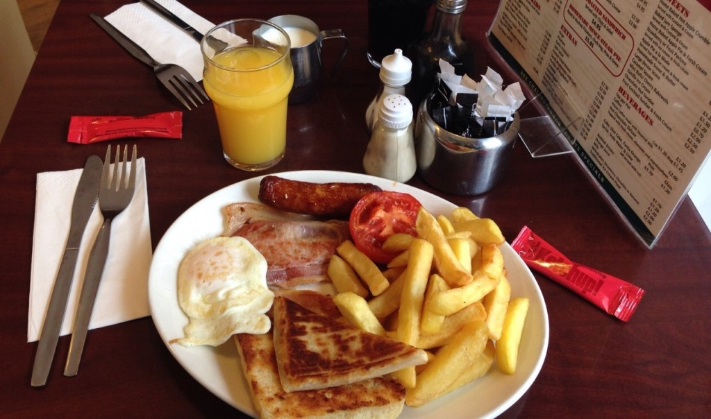 Ulster breakfast_All fried